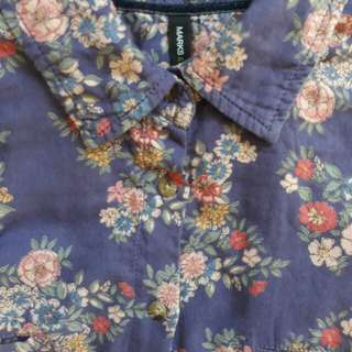 Marks & Spencer floral long sleeves