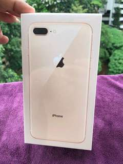 IPHONE 8 PLUS 256 GB 1 YEAR  WARRANTY COD ONLY