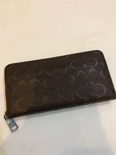 Coach Long Wallet unisex purse