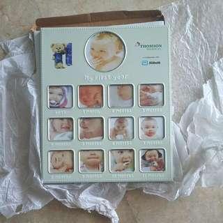 Brand New Baby Milestones Photo Frame