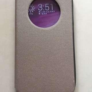 Casing Hp Asys Zenfone 6 Leather Flip Window Baru
