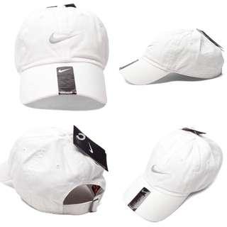 "INSTOCKS Nike White Heritage ""Swoosh"" Baseball Cap"