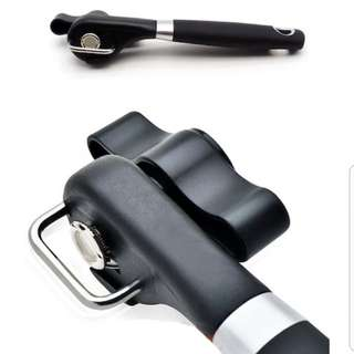Magical Safety Can Opener for round top/ triangular top. No more sharp edges!