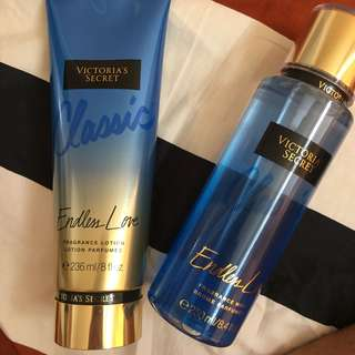 Victoria's Secret Endless Love Lotion & Perfume