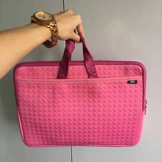 """Pink 13"""" laptop case"""