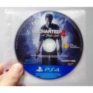 🚚 PS4 秘境探險4 Uncharted (A Thief's End) 遊戲光碟