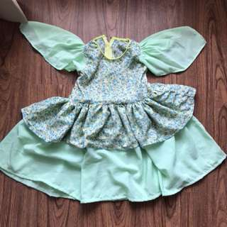 Green Dress for Girls