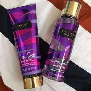 Victoria's Secret Love Spell Lotion & Perfume