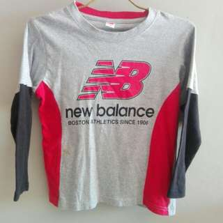 Long sleeve new balance