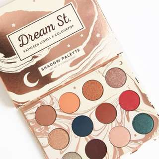 ColourpopxKathleen Lights Dream St Palette