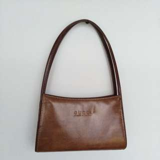 Gucci Italy Brown Bag