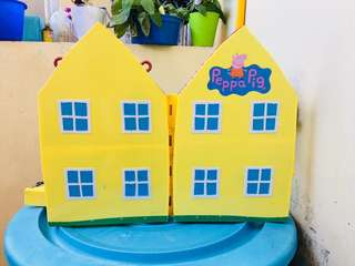 Peppa pig house only
