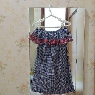 Dress sabrina emboridery