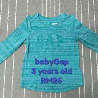 babyGap T-shirt for boy, 3 years old (new)