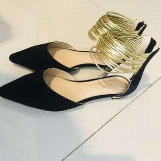 SHUBAR - flat shoes size 8