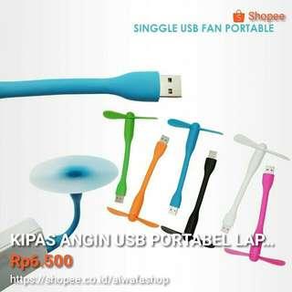 KIPAS ANGIN USB LAPTOP, POWERBANK