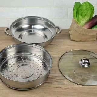 Soup steamed pot