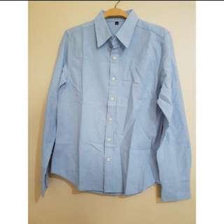 BNIB Premium Blouse in Blue (S)