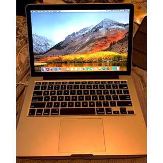 Macbook Pro 13-inch Late 2013