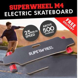 SUPERWHEEL M4 for 200$ (new in condition, not used more than 20km)