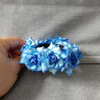 Bracelet (Blue Flower)