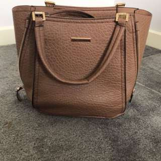 Novo Anson Taupe Handbag