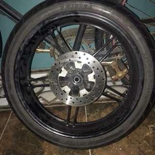 Sportrim Ori Motor Y15 Siap Disc Depan Belakang