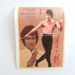 📮1940-1973年 李小龍紀念郵票2張