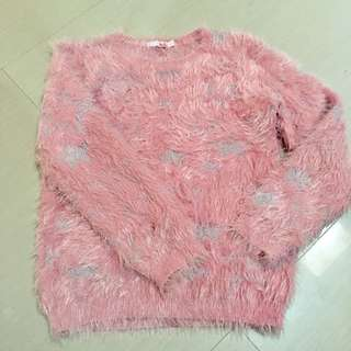 ELLE FUR SWEATER