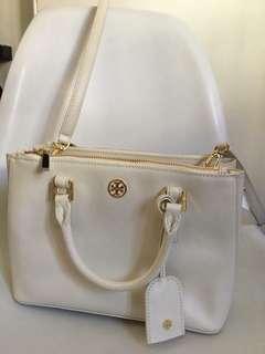 Tory Burch white bag