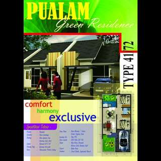 Rumah Kapling Ready Tipe Pualam Green Residence