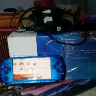 PSP 3006 Blue refurbished new..
