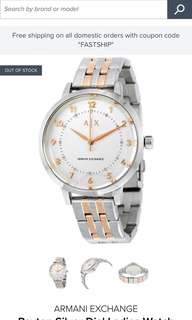 Brand new Armani Exchange Watch