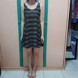 Batik Babydoll Dress