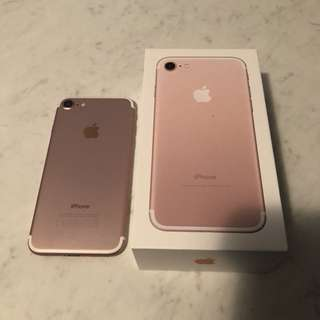 ROSE GOLD IPHONE 7 | 32GB
