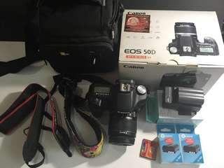 Canon Eos 50D 18-55mm EFS kit Bundle