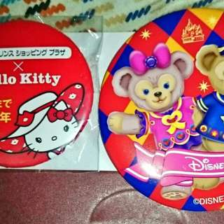 Hello kitty,disney 㩒章