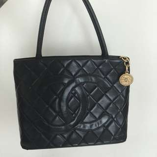Authentic Chanel Medallion Totebag