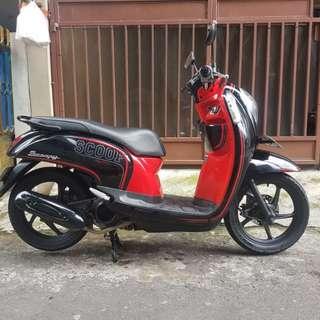 Honda scoopy 2013 injection pajak panjang dki barat