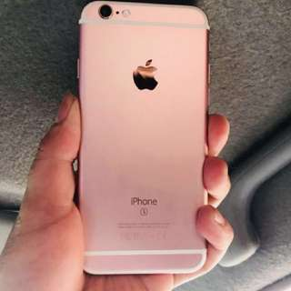 iPhone 6s rosegold Repriced