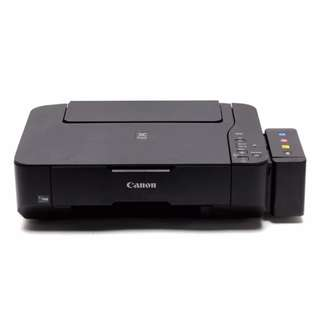 Canon MP237 (printer,scanner,copier) with CISS and 4 free inks