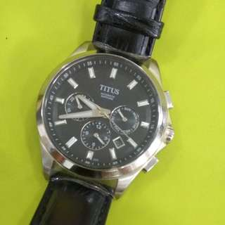 Like new Titus watch for sale