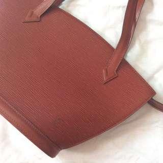 Louis Vuitton Epi Leather Saint Jacques
