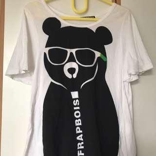 Frapbois bear tee