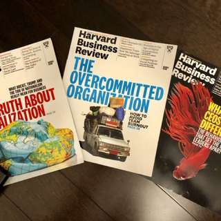 Harvard Business Review Brand New