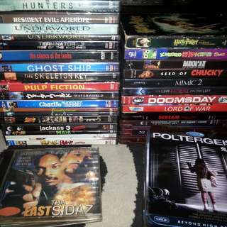 Dvds movies assorted bundle