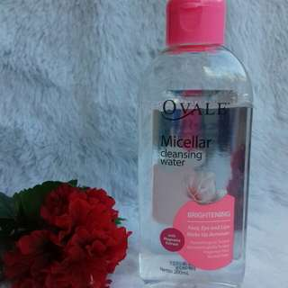 Ovale Micellar Water Pink