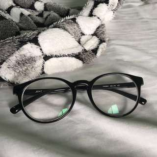 Black Round Eye Glasses with Grade