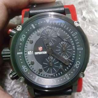 NEW Expedition Watch Original (Jam Tangan Bersertifikat)