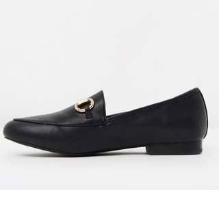 Gucci Look Black Loafers BRAND NEW!!